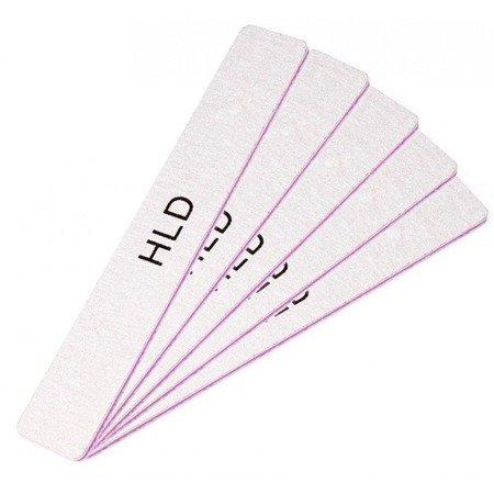 Zestaw 5 pilników do paznokci HLD szeroki 100/180