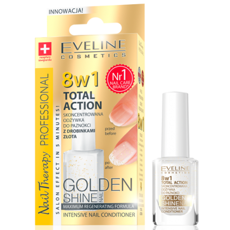 Eveline 8w1 Golden Shine 12 ml