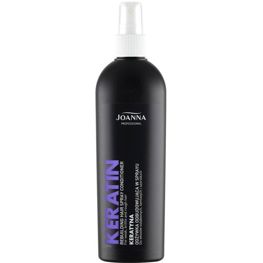 Joanna Professional Odżywka w spray'u odbudowująca z keratyną 300 ml