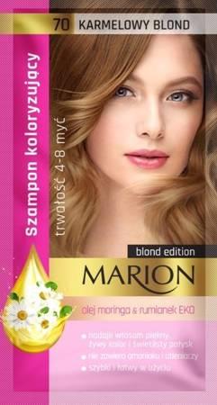 Marion szampon koloryzujący 70 Karmelowy blond 40ml