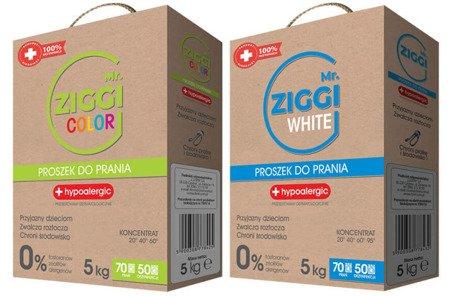 Mr. ZIGGI zestaw proszków do prania 2x5kg COLOR WHITE