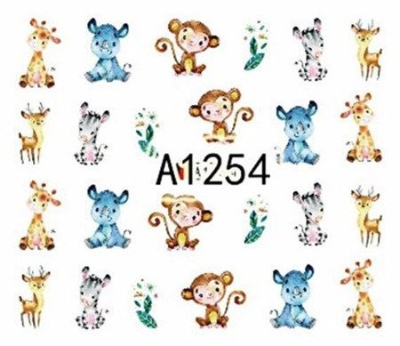 Naklejki wodne A1254