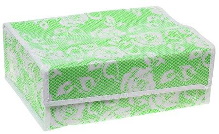 Organizer do szuflady na bieliznę 12 przegródek z przykrywką