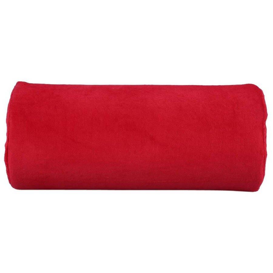 Poduszka pod dłoń frotte czerwona