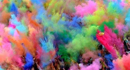 Proszek Hi Holi 100 g - kolor fioletowy