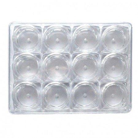 Słoiczki 5ml 10szt. Krystaliczne