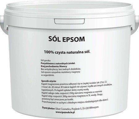 Sól Epsom gorzka rzymska siarczan magnezu 5kg