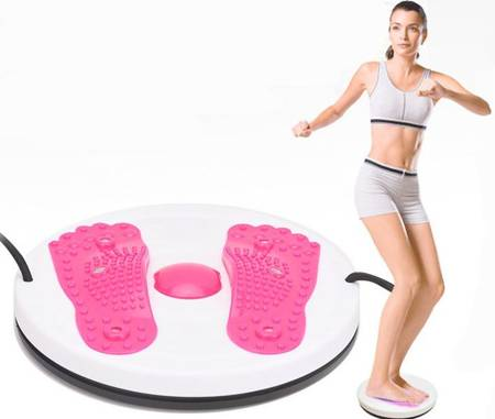 Twister obrotowy do ćwiczeń z linkami masażer stóp
