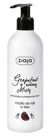 ZIAJA Mydło do rąk w żelu grapefruit mięta 270 ml