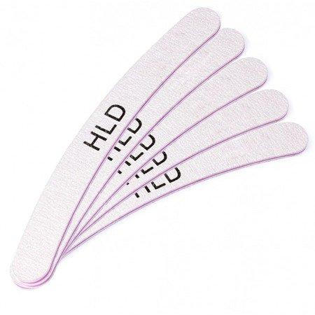 Zestaw 5 pilników do paznokci HLD banan 100/180