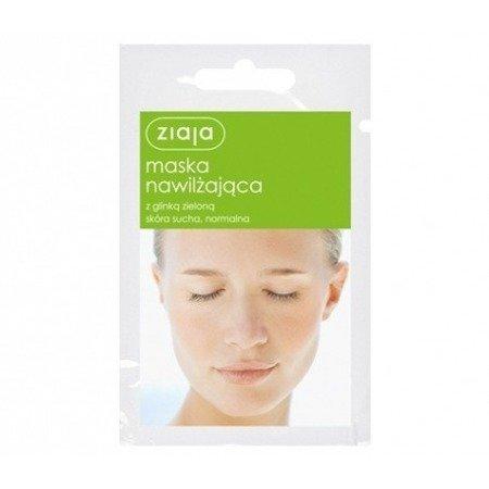 Ziaja Maska nawilżająca z glinką zieloną 7 ml