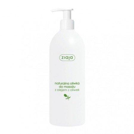 Ziaja Naturalna oliwka do masażu z olejem z oliwek 500 ml