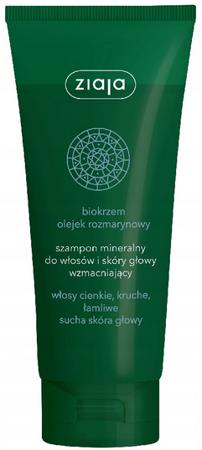 Ziaja szampon do włosów mineralny biokrzem olejek rozmarynowy 200 ml